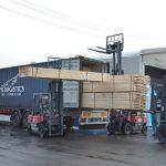 セルコ輸入資材コンテナ